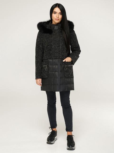Пальто чорне Favoritti 4735377