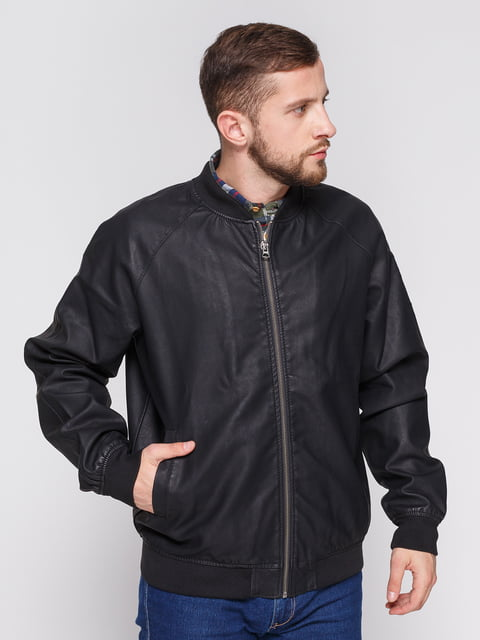 Куртка чорна Springfield 3966858