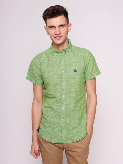 Сорочка зелена Springfield 3009833