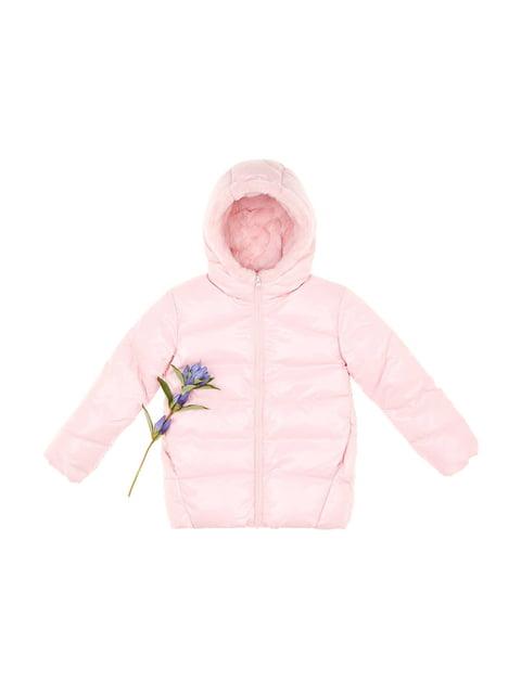 Куртка розовая Benetton 4715595