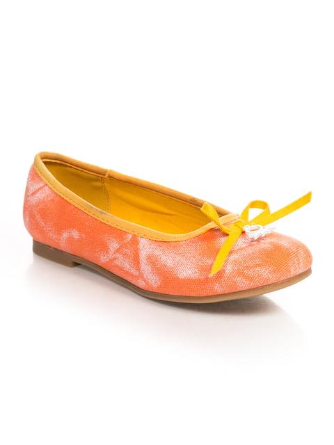 Балетки оранжевые SIPORT 4708118
