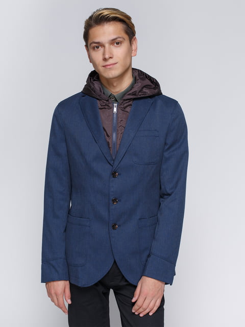 Куртка синяя Springfield 2992165