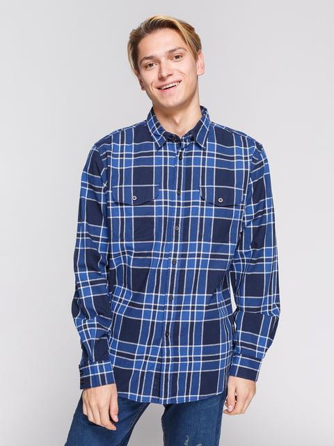 Рубашка клетчатая Springfield 3966814