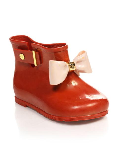 Ботинки рыжего цвета Шалунишка 3902818