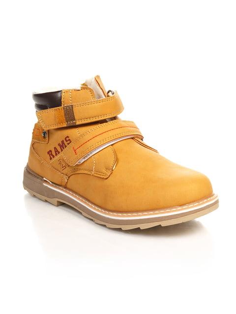 Ботинки рыжего цвета Шалунишка 4242391