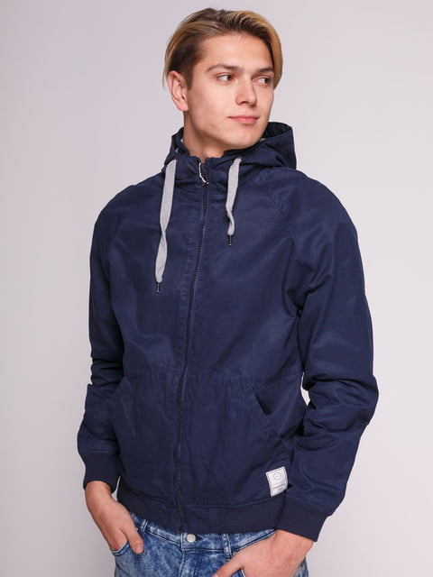 Куртка темно-синя Springfield 3009927