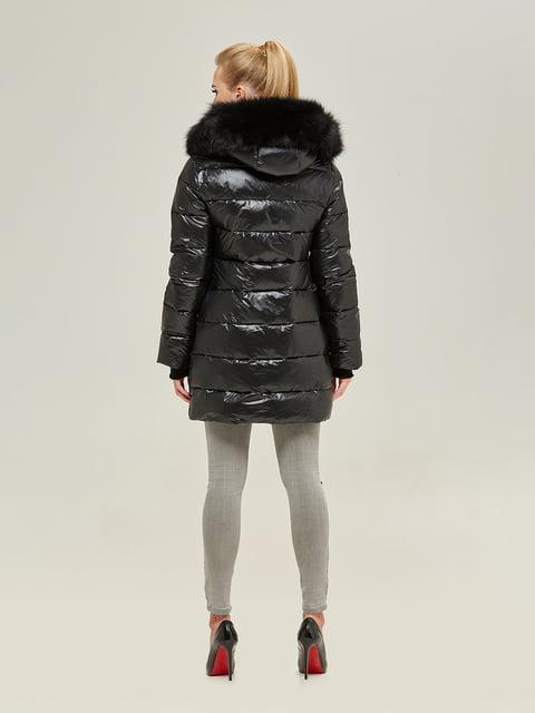 Куртка чорна Mila Nova 4738766