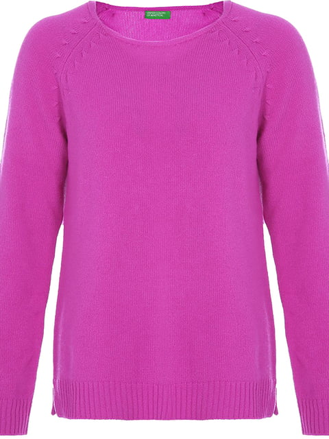 Джемпер розовый Benetton 4643764