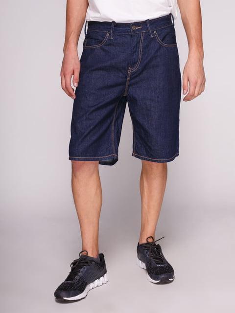 Шорты синие джинсовые Springfield 3009597