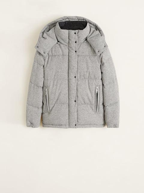 Куртка серая Mango 4726342