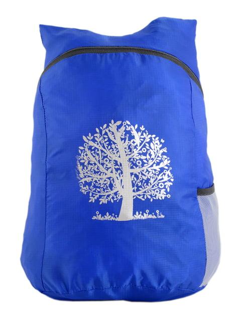 Рюкзак синий с принтом Traum 4758618