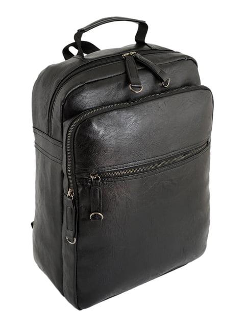 Рюкзак чорний Traum 4758638