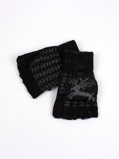 Рукавички чорні Fashion Classic 4760347