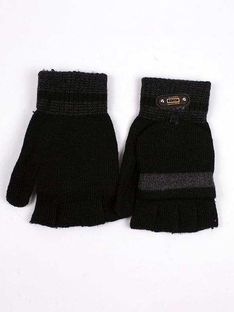 Рукавички чорні Fashion Classic 4760348