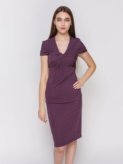 Сукня баклажанового кольору BGN 4653120