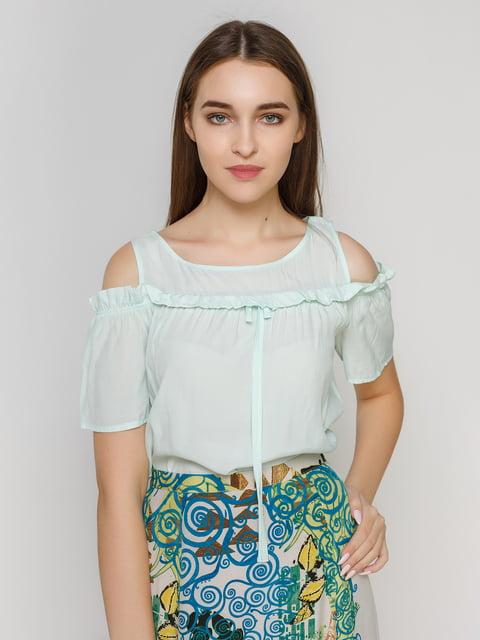 Блуза мятного цвета BGN 4194687