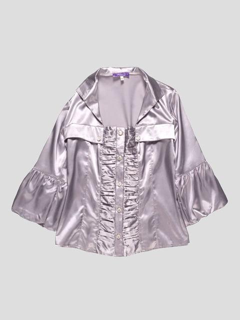 Блуза кольору металік Lider Class 4719505