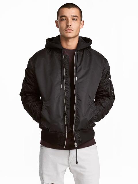Куртка черная H&M 4733488