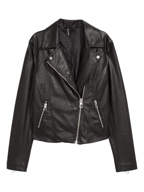 Куртка чорна H&M 4733489