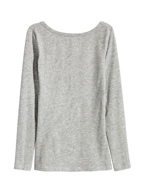 Лонгслів сірий H&M 4730276