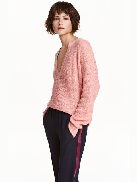 Джемпер розовый H&M 4730560
