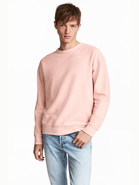 Свитшот светло-розовый H&M 4730561