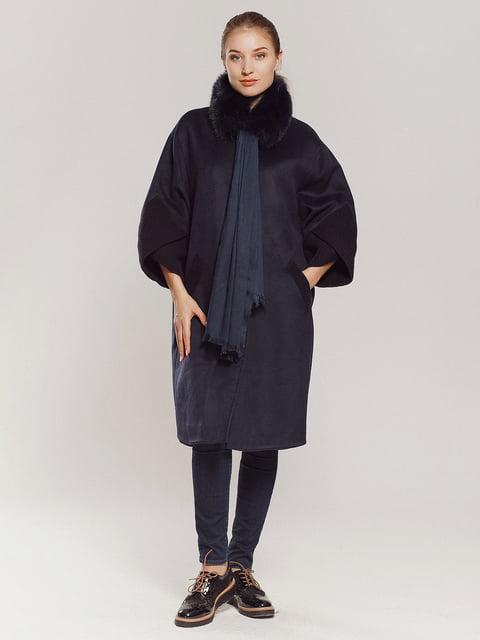Пальто темно-синее Esmeralda 4739301
