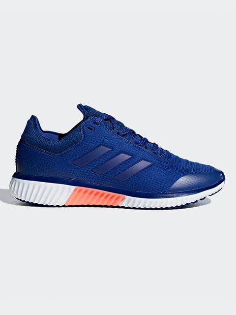 Кроссовки синие Adidas 4707072