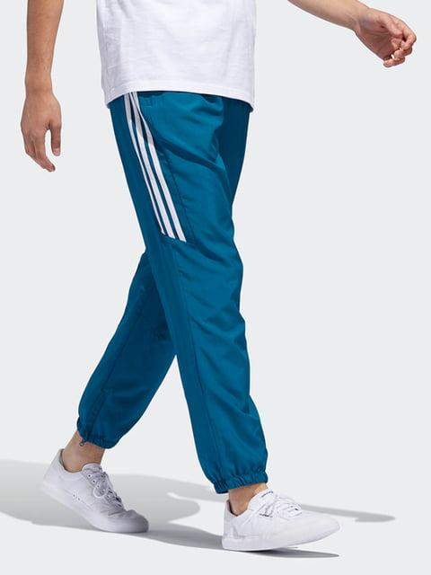 Брюки цвета морской волны Adidas Originals 4692678