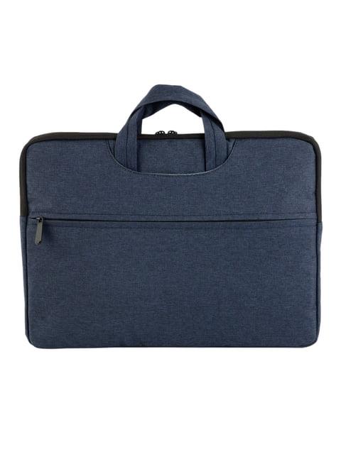 Сумка-чохол для ноутбука синя Traum 4762017