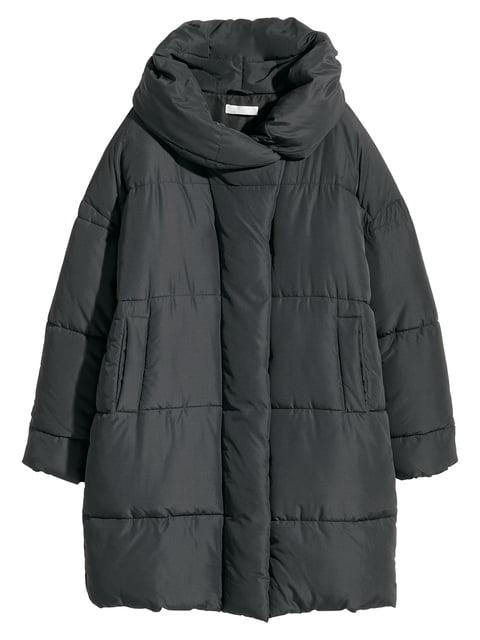 Куртка чорна H&M 4761930