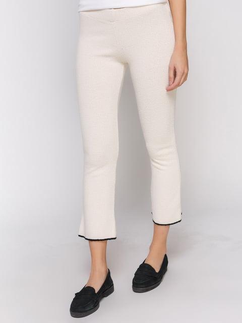 Штани молочного кольору Zara 3283104