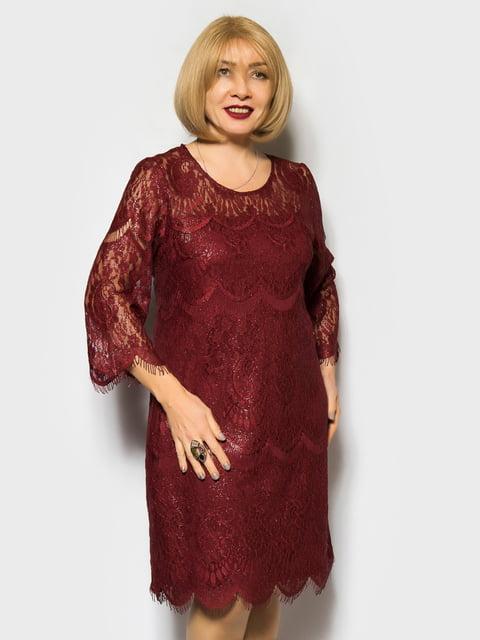 Сукня бордова LibeAmore 4763971