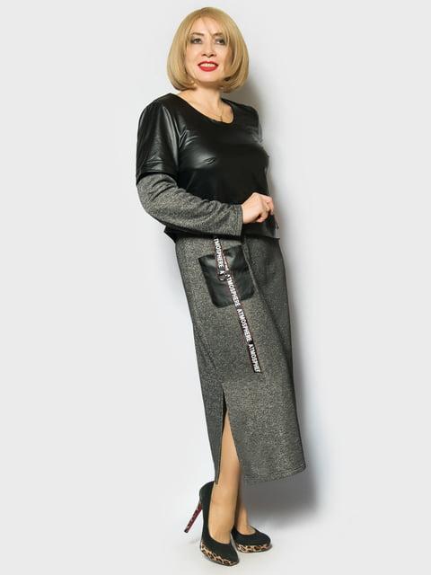Сукня сіра LibeAmore 4763981