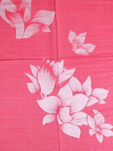 Палантин в двусторонний цветочный рисунок FAMO 4672766