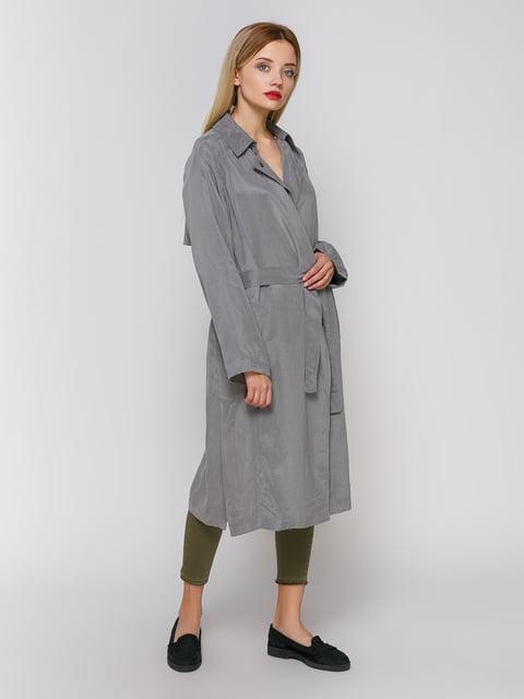 Плащ серый Zara 3911416