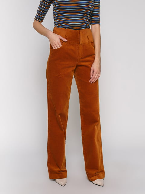 Брюки коричневые Zara 2750140