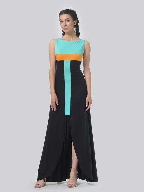 Платье комбинированной расцветки AGATA WEBERS 4767828