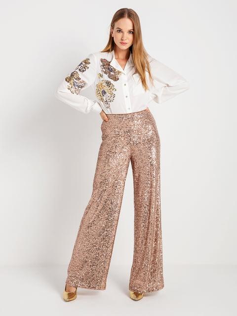 Штани золотисто-рожевого кольору BGN 4762910