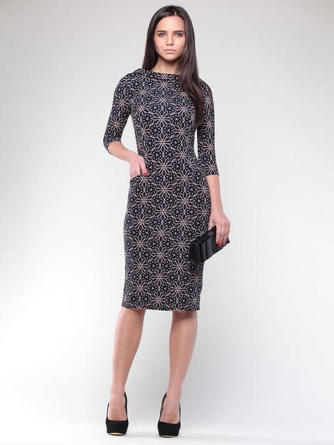 Платье в принт Laura Bettini 2352998