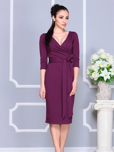 Платье цвета марсала Laura Bettini 4765687