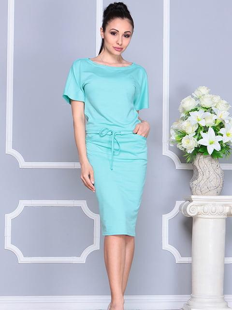 Платье ментолового цвета Laura Bettini 4765841
