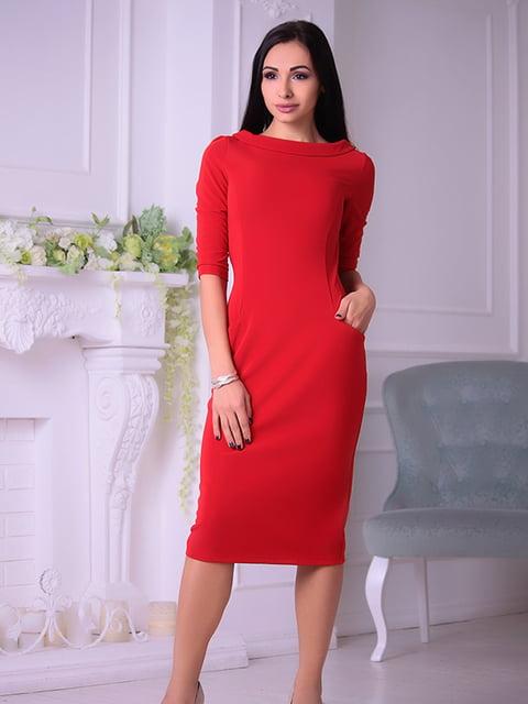 Платье красное Laura Bettini 4765867