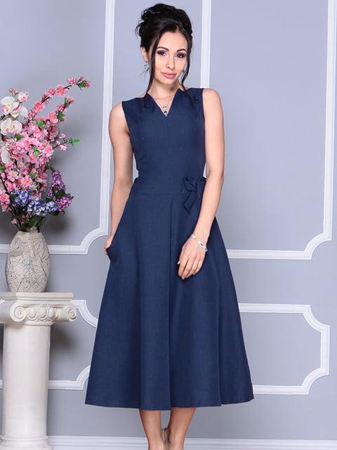 Платье темно-синее Laura Bettini 4766044