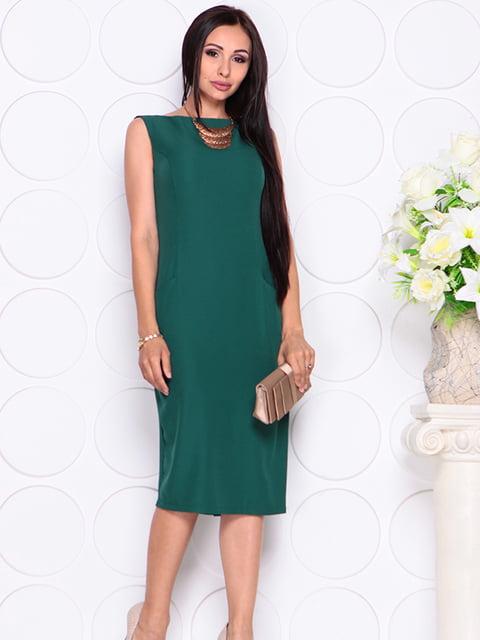 Платье темно-изумрудного цвета Laura Bettini 4766310