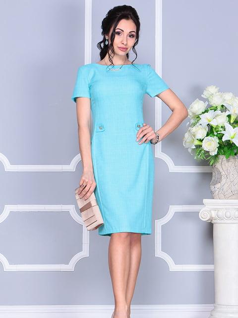 Сукня світло-бірюзового кольору Dioni 4766906