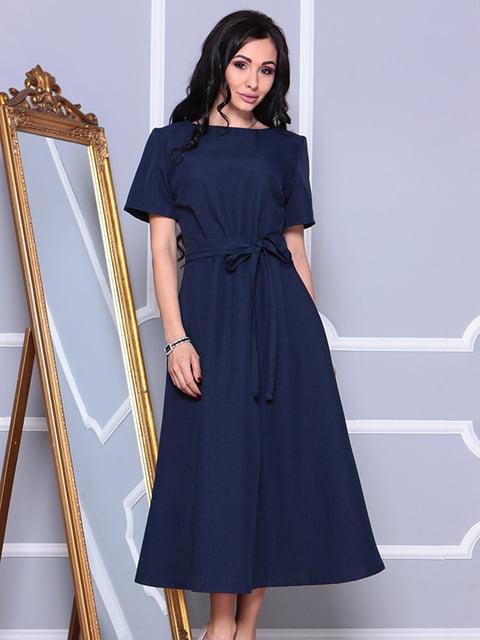 Сукня темно-синя Maurini 4767331