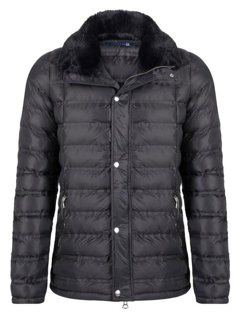 Куртка чорна Giorgio di Mare 4649802