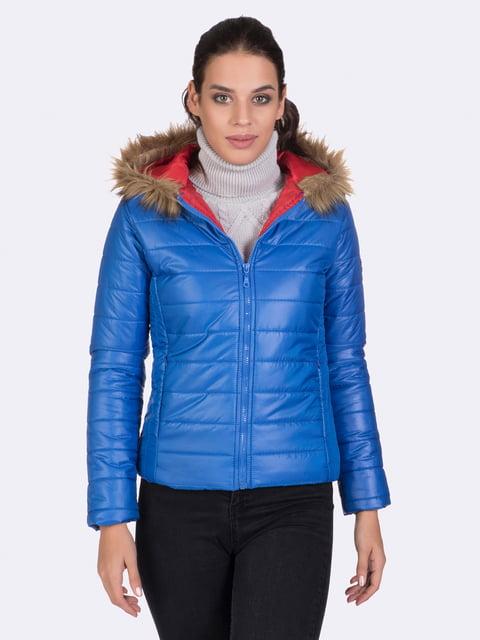 Куртка цвета электрик Giorgio di Mare 4764634