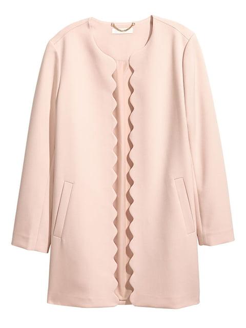 Пальто цвета пудры H&M 4725971